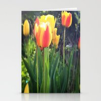 Spring Tulips In Bloom Stationery Cards