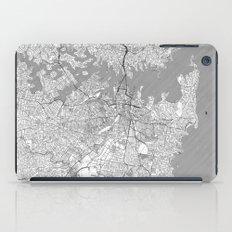 Sydney Map Line iPad Case