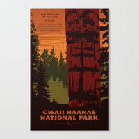 Gwaii Haanas (Haida Gwaii) National Park Poster Canvas Print
