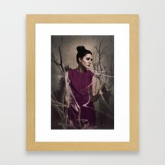 Why do we miss what was never ours? Framed Art Print