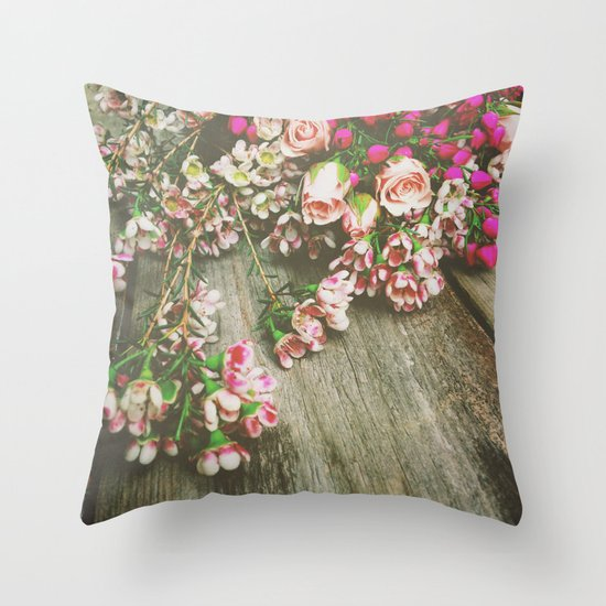 She Had a Spirit That Was Wild and Free Throw Pillow