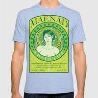 Maenad Absinthe Mens Fitted Tee Tri-Blue SMALL