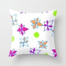 Festive Cracker Jacks Throw Pillow