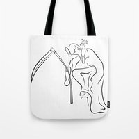 Gevatter / Godfather / Grim HIP HOP for Halloween Tote Bag