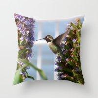 Hummingbird Throw Pillow