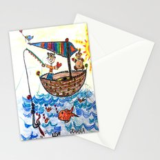 :: Row, Row, Row Your Boat :: Stationery Cards
