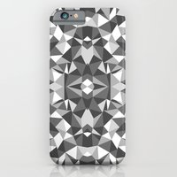 Abstract Colide Black and White iPhone 6 Slim Case