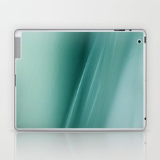 Fantasy Space Lines 1 Turquoise Laptop & iPad Skin