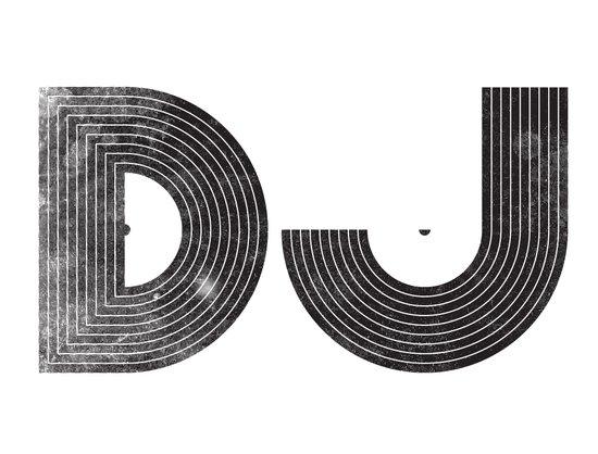 DJ Art Print