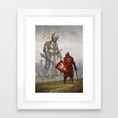 1410 Framed Art Print