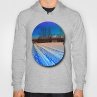 Traces On A Winter Hikin… Hoody