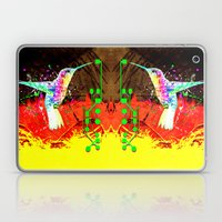 Digital Hummingbird & (g… Laptop & iPad Skin
