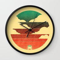 Go West Wall Clock