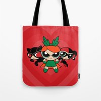 Supervillain Girls Tote Bag