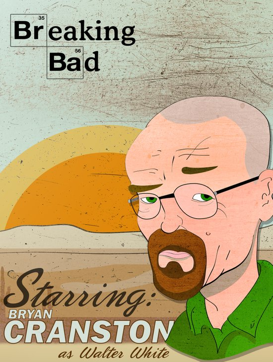 Breaking Bad Art Print