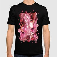 Sexy Sparkles Mens Fitted Tee Black SMALL