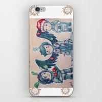 O Christmas Cas iPhone & iPod Skin