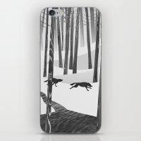 Martwood Wolves iPhone & iPod Skin