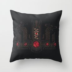 The Crown of Cthulhu Throw Pillow