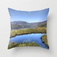 Ogwen's Pond Throw Pillow