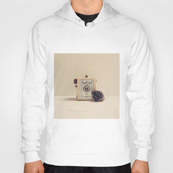 Retro Camera and Pine Cone Hoody
