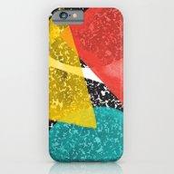 Watercolor Memphis Desig… iPhone 6 Slim Case