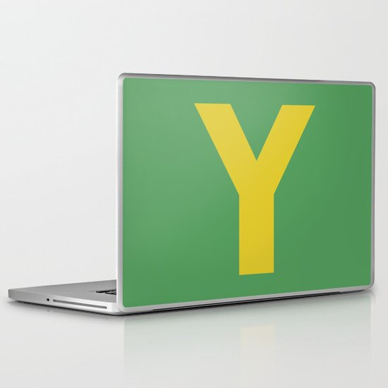 Y is for... Laptop & iPad Skin