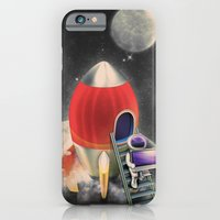 Rocketship Goes By iPhone 6 Slim Case