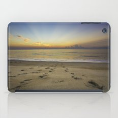 Footprints in the Sand iPad Case