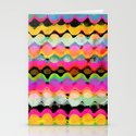 Summer pattern Stationery Cards