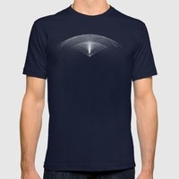 Wings Mens Fitted Tee Navy SMALL