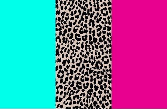 Leopard National Flag Art Print