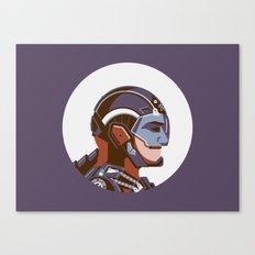 Headgear: ATOM Canvas Print