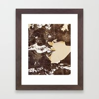 Totally Textured Framed Art Print