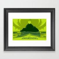Link's Awakening (Open E… Framed Art Print
