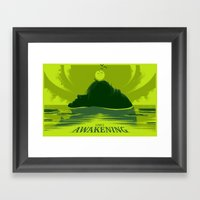 Link's Awakening (Open E… Framed Art Print
