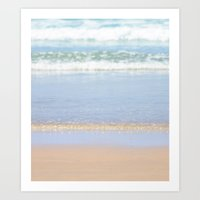 Rolling Waves 3 Vertical Art Print