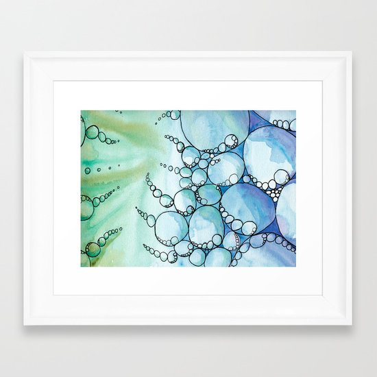 Reaching Out Framed Art Print