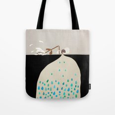 words of silence Tote Bag