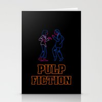 pulp fiction Stationery Cards featuring Pulp Fiction by Studio 401