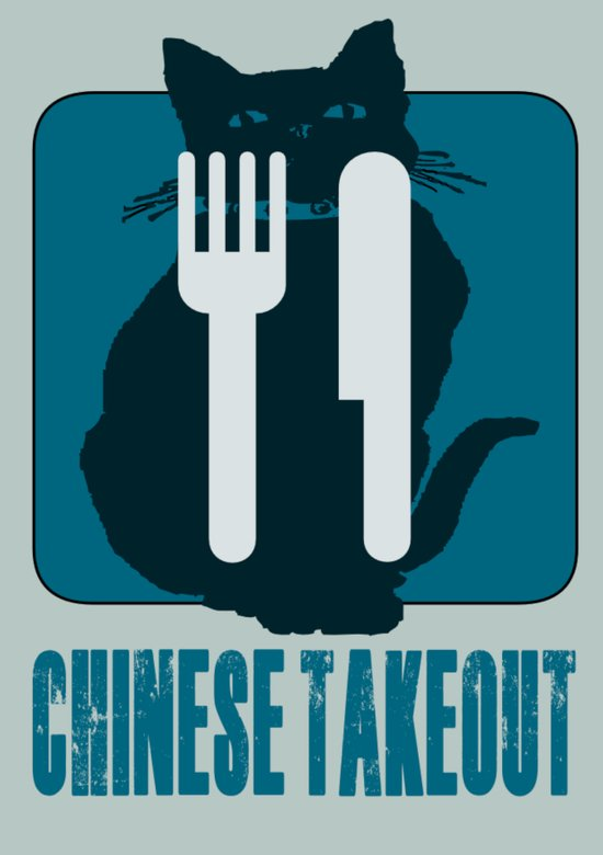 chinese takeout Art Print