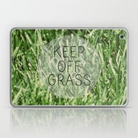 Keep Off Grass Laptop & iPad Skin