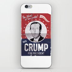 CRUMP ! iPhone & iPod Skin