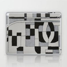 Silver Map Laptop & iPad Skin