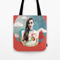 CORNELIAS Heart Rhythms  Tote Bag