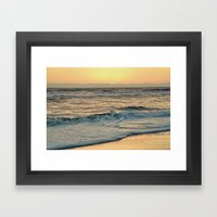After the Storm Ocracoke Island, North Carolina Framed Art Print