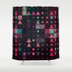 ynvyrt yrchyn Shower Curtain