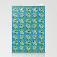 Bulbasaur Stationery Cards