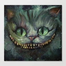 Cheshire Cat - We're All… Canvas Print