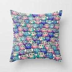 owl-137 Throw Pillow